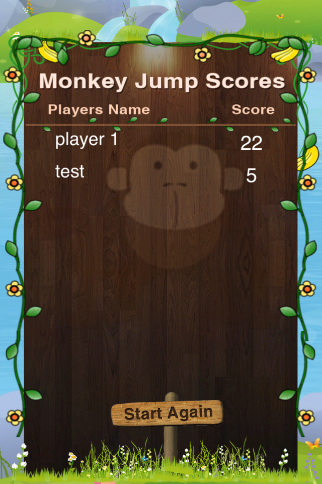 Screenshot iMonkey Jump